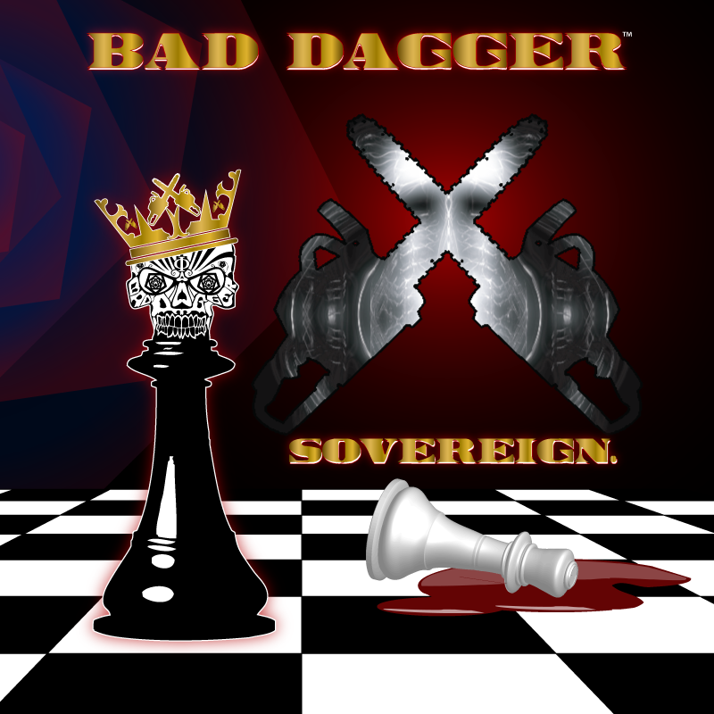 Bad Dagger - Sovereign. - cover